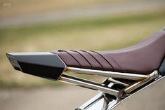 The Omen: An With a Custom Perimeter Frame Omen: Yamaha Bike EXIF mit benutzerdefiniertem Begrenzungsrahmen Motorcycle Design, Motorcycle Style, Bike Design, Motorcycle Gear, Women Motorcycle, Motorcycle Quotes, K100 Scrambler, Cx500 Cafe, Custom Motorcycles