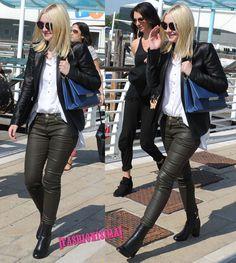 Dakota Fanning llega al Festival de Venecia. ¡No, no, no!