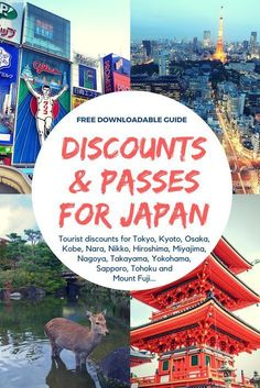 A complete guide to every tourist discount and pass available in Japan. Don't spend full price on sightseeing or travel in Japan! Tokyo Japan Travel, Japan Travel Guide, Go To Japan, Visit Japan, Asia Travel, Japan Trip, Tokyo Trip, Osaka Japan, Sapporo