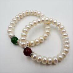 35df3ba1caf0 Las 59 mejores imágenes de Pulseras de perlas