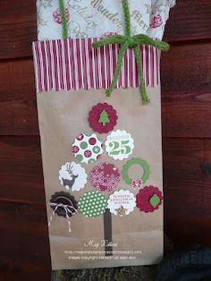 Megumi's Stampin Retreat: Christmas Gift Bag