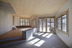 Holzhausen Zweifel Architekten - Family house, Salins 2014....