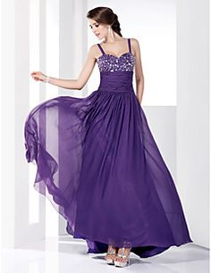TS+Couture®+Prom+/+Formal+Evening+/+Military+Ball+Dress+-+Open+Back+Plus+Size+/+Petite+A-line+/+Princess+Sweetheart+/+Spaghetti+Straps+Floor-length+–+USD+$+89.99  plus size!