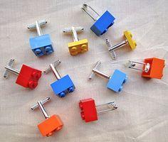 Lego Cufflinks | 10 Ways To Craft Like A Kid Again