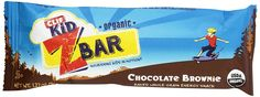 CLIF KID ZBAR - Organic Energy Bar - Chocolate Brownie - (1.2 oz) * Check this awesome image  : Bars Snacks Weight loss dietry