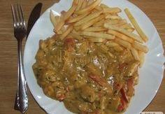 Maso se smetanovo-hořčičnou omáčkou Food And Drink, Chicken, Recipes, Kochen, Food Recipes, Rezepte, Recipe, Cooking Recipes, Cubs