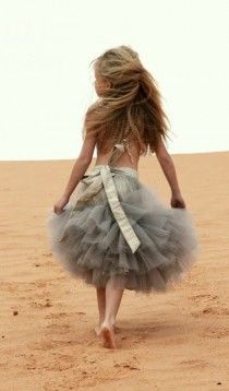 Cute Flower Girl Tutu Skirt