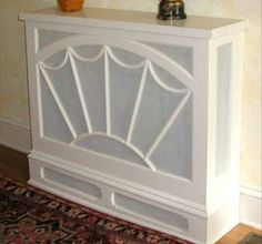 Fanlight Radiator Cover