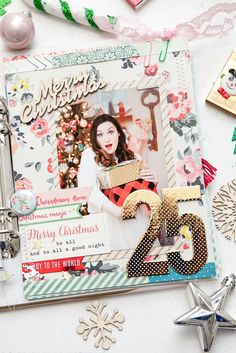 My Holidaily — Life As A Fairytale Christmas Mini Albums, Christmas Scrapbook, Christmas Minis, Christmas Books, All Things Christmas, December Daily, December Challenge, Project Life Planner, Love Scrapbook