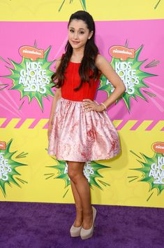 Ariana Grande media gallery on Coolspotters. See photos, videos, and links of Ariana Grande. Frankie Grande, Yours Truly, Broadway, Kids Choice Awards 2013, Bae, Ariana Grande Fotos, Sam And Cat, Nickelodeon, Boat Neck Dress