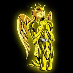 armadura de oro de virgo