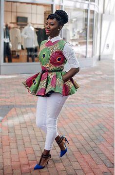 Ghanaian Designer wife Dread head Ig prissyvile For more styles prissyvile.com (Top by her)