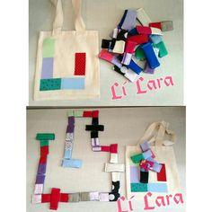 """Dominó de Cores """"Lí Lara"""" 26 peças em tecido 100℅ algodão. Peças laváveis. Com sacola pra guardar as peças. Facebook: Lilaratelier"""