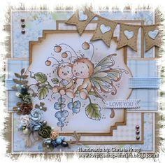Love to Scrap: Wee Stamps van Sylvia Zet ....