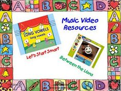 Music videos - smartboard