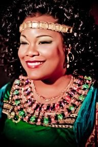 """Texas native Latonia Moore, who plays the title role in The Dallas Opera's Aida, on her lucky break and becoming one of the world's go-to Aidas."" via theaterjones.com"