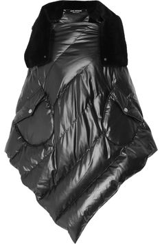 Junya Watanabe Ester quilted poncho NET-A-PORTER.COM