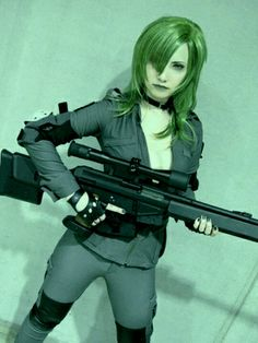 Sniper Wolf from Metal Gear Solid