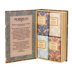 William Morris giftset (Guest soaps)