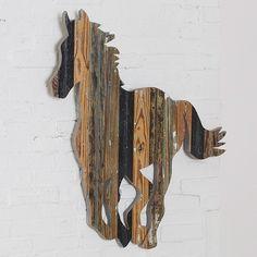 Trigger Running Horse Art