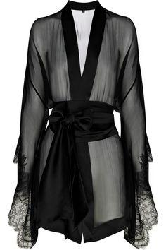 CARINE GILSON  Frou Frou silk-chiffon kimono  $1,345