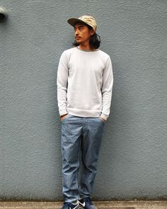 [HEADWEAR] SD 3 Layer Camp Cap PRICE : ¥6,300(+Tax) RELEASE : Apr.  [TOPS] SD Coolmax Border Sweater PRICE : ¥12,800(+Tax) RELEASE : Feb.  [BOTTOMS] SD Chambray Easy Pants PRICE : ¥15,800(+Tax) RELEASE : Mar.