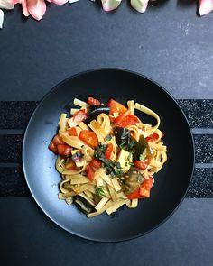 One-Pot Ratatouille Spaghetti (Vegan + GF) - Wallflower Kitchen