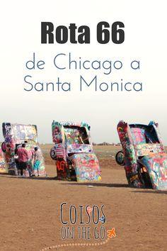 Primeiro post da série sobre a Rota 66, de Chicago a Santa Mônica! #route66 #rota66