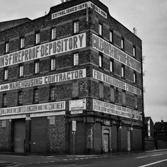 Hands down the best type in Liverpool Coleman's Fireproof Depository. I'll be drawing this one soon!