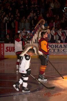 Spokane Chiefs Honor Native Heritage Before Playing Hockey