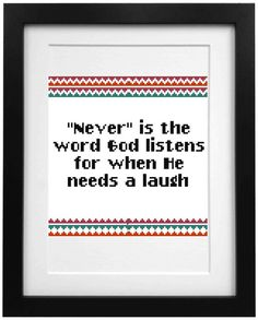 Life quote cross stitch pattern. PDF Instant Download. Modern cross stitch. Ironic cross stitch quote. Stephen King quote. Sarcastic quote.
