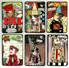 ATCs by Nancy Baumiller