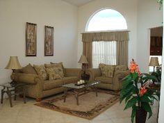Living room #disney #rental #vacation http://www.homeaway.com/vacation-rental/p236453