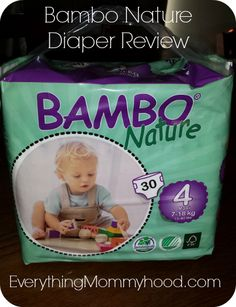 Bambo Nature 100% chemical free, Diaper review.
