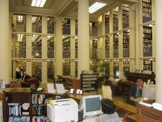 The Mechanics' Institute Library in San Francisco, CA was founded in 1854 in its one hundred year-old landmark building on Post Street. They offer book discussion groups, writers' groups, and Internet research classes, the oldest chess club in the United States with activities for players of all abilities from beginners to grand masters and an active program of literary and cultural events, including author programs, film series, salons, special events and art exhibitions.