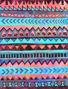 tribal stripe on society6 by schatzibrown