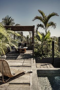 Already thinking of our next winter escape: Be Tulum. We have been going to Tulum for years and, although the area has become more developed. Interior Tropical, Design Tropical, Tropical Plants, Be Tulum Hotel, Tulum Hotels, Design Hotel, Spa Design, Design Room, Design Ideas