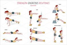 strength exercises - Google Search