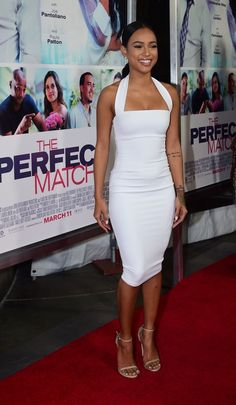 karrueche tran Premiere+Lionsgate+Perfect+Match+Red+Carpet+mycAWZ01Gcvx