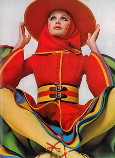 1968 Nina Ricci. UK Vogue