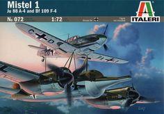 Italeri 072 Mistel 1 - Ju 88 A-4 and Bf 109 F-4