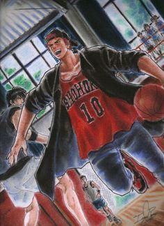 New basket ball ilustration slam dunk ideas Mobile Wallpaper, Bleach Anime Art, Slam Dunk Manga, Inoue Takehiko, Anime Stars, Popular Anime, Cute Memes, Tumblr Girls, Slammed