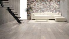 White oiled oak floor