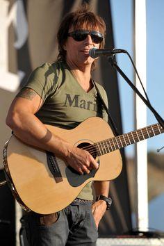 Richie Sambora Photos: Richie Sambora Donates Guitars To U.S. Marines At Camp Pendleton