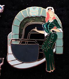 Disney WDI Haunted Mansion Doombuggy Jessica Rabbit VHTF LE 300 Maid Mystery Pin