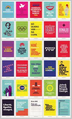 CARTAZES MANIFESTAÇÃO BRASIL!!! VEM PRA RUA