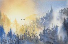 Misty Flight Giclée