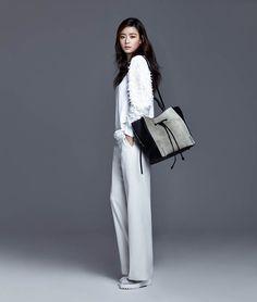 Jeon Ji Yeon for Rouge&Lounge Fall/Winter 2014