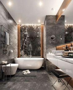 M I X IT U P | combination trend of ceramic granite tile, marble and wood ✨via @studia_54 * * * #design #designporn #interiors…