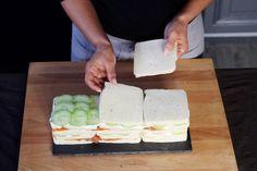 Le pain-surprise c'est HAS BEEN ! Place au SANDWICH CAKE - Diaporama 750 grammes